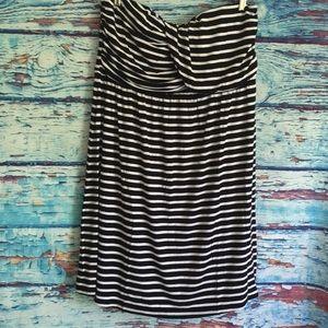 🌻 LANE BRYANT STRAPLESS DRESS